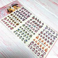 """Слайдер-дизайн для ногтей """"ANGEVI"""" """"Водные"""" №001-003"""