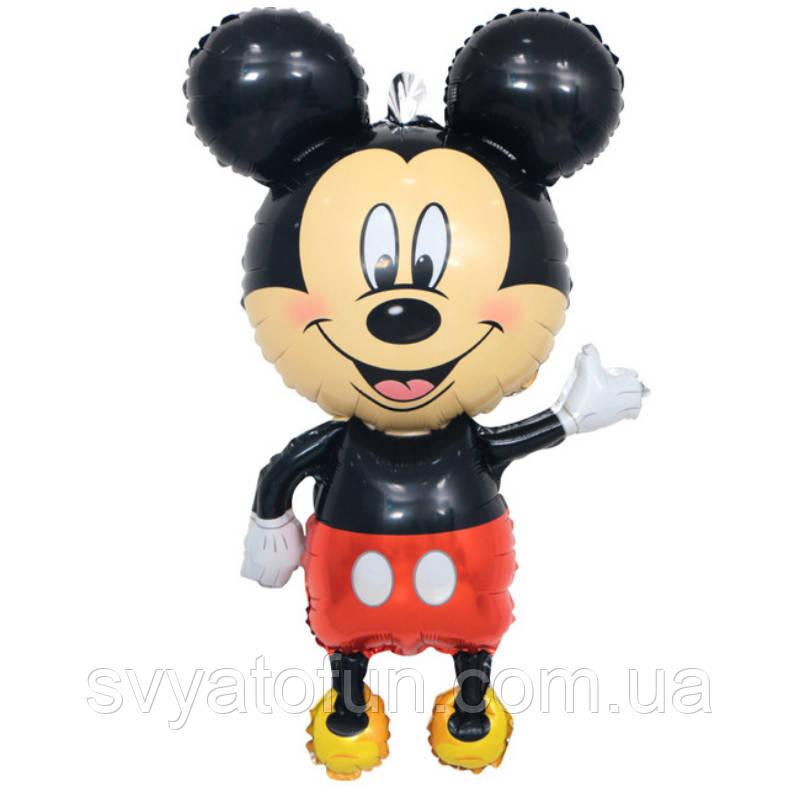 Фольгированный шар фигура Микки Маус Китай