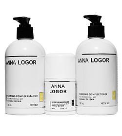 Набор косметики Anna LOGOR Базовый уход для комбинированной кожи лица Art.301 323