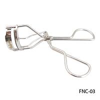 Щипцы для завивки ресниц FNC-03 (металлические ручки) с запасной резиновой прокладкой
