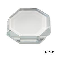 Подставка стеклянная для материалов при наращивании ресниц MEY-01