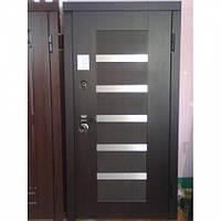 Бронированные двери Серия «MAXIMA»«MILANO» Венге темный 117