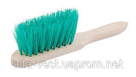 Щетка для мусора с деревянной ручкой 275*40*60 мм ПП 5-рядная ГОСПОДАР 14-5503