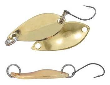 Блесна Fishing ROI колебалка IRIS 3g Gold