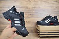 Мужские зимние кроссовки Adidas Climaproof Gray (на меху), серые. Размеры (41,42,44,45), фото 1
