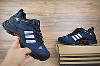Мужские зимние кроссовки Adidas Climaproof Blue (на меху), синие. Размеры (41,42,43,44,45,46), фото 1