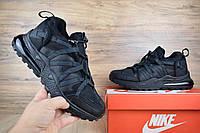 Кроссовки мужские зимние Nike Air Max 270 Black (на меху), чёрные. Размеры (42,43,44,45), фото 1