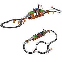 Томас и друзья Железная дорога с передвижным мостом моторизированный Томаса Fisher-Price Thomas Friends