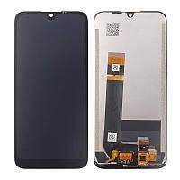 Дисплей (LCD) Nokia 1.3 с тачскрином, черный, оригинал (PRC), фото 1