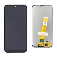 Дисплей (LCD) Samsung A015 Galaxy A01 (2019) OLED з тачскріном, чорний