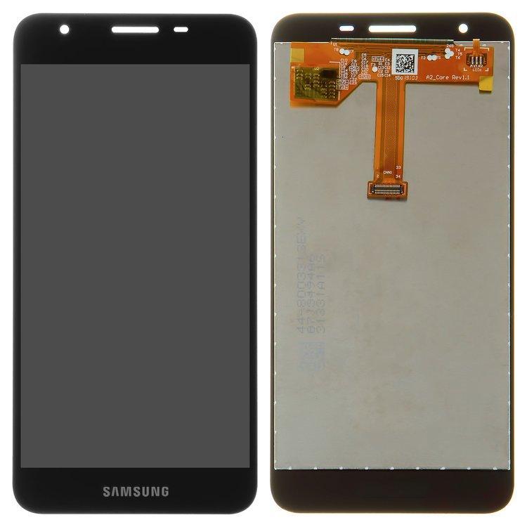 Дисплей (LCD) Samsung A260 Galaxy A2 Core (2019) TFT INCELL з тачскріном, чорний