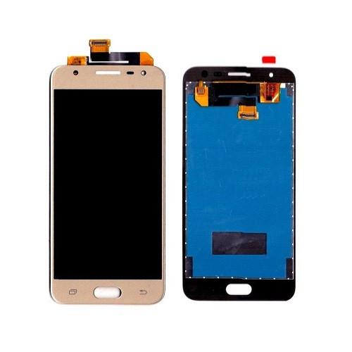 Дисплей (LCD) Samsung G570 Galaxy J5 Prime | G570F PLS с тачскрином, золотой, оригинал (PRC)