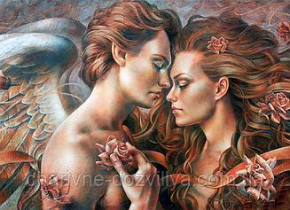 """Набор алмазной вышивки (мозаики) """"Прикосновение ангела"""""""