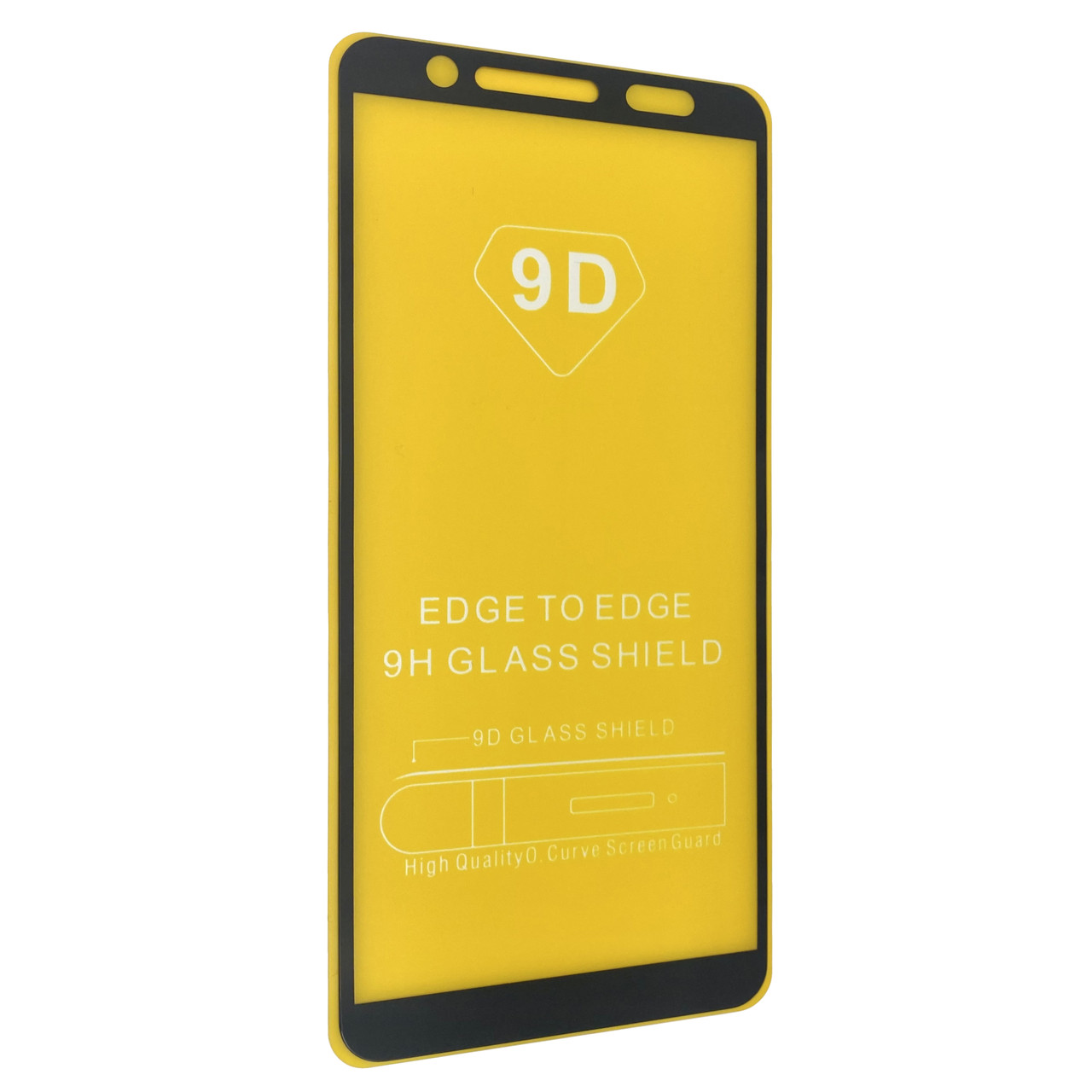 Защитное стекло DK Full Glue 9D для Samsung Galaxy A7 (A750) (black)