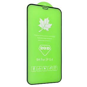 """Защитное стекло DK Full Glue 20D для Apple iPhone 12 mini 5.4"""" (black)"""