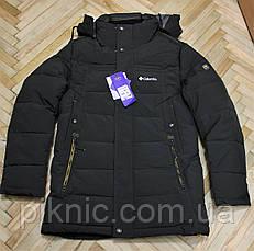Зимняя мужская куртка M, L, XL, XXL, холофайбер. Молодежная курточка Темно-зеленый, фото 3