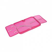 Пенал твердый SMART одинарный с двумя клапанами LamaSmart розовый (532778), фото 3