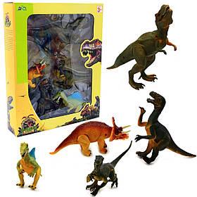 Игровой набор Динозавры, 5 шт. Sq666