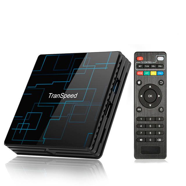 Смарт ТВ приставка Transpeed TR99 Mini+ 4/64Gb Voice Control
