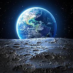 """Набор алмазной вышивки (мозаики) """"Земля и Луна"""""""