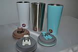 Термокружка Термостакан металическая, фото 3