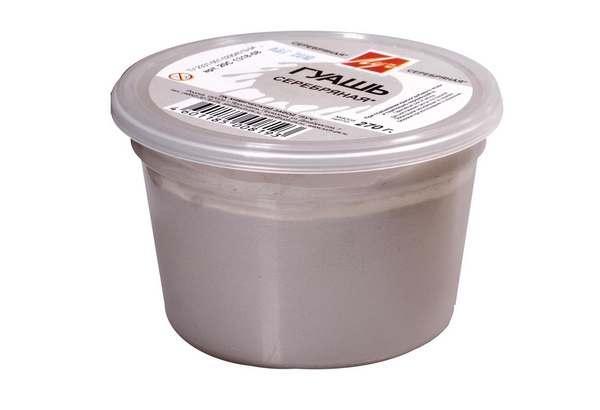 Гуаш Луч срібляста 225 мл, 0,27 кг 20С1318-08
