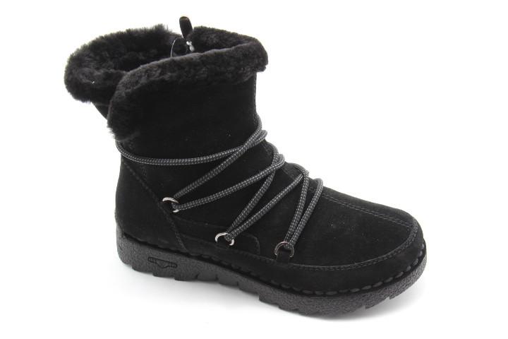 Зимние ботинки натуральный мех MeegoComfort 6011-606M