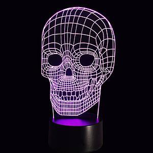 3D Світильник Череп 13-13
