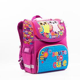 Рюкзак smart Сови рожевий (558062)