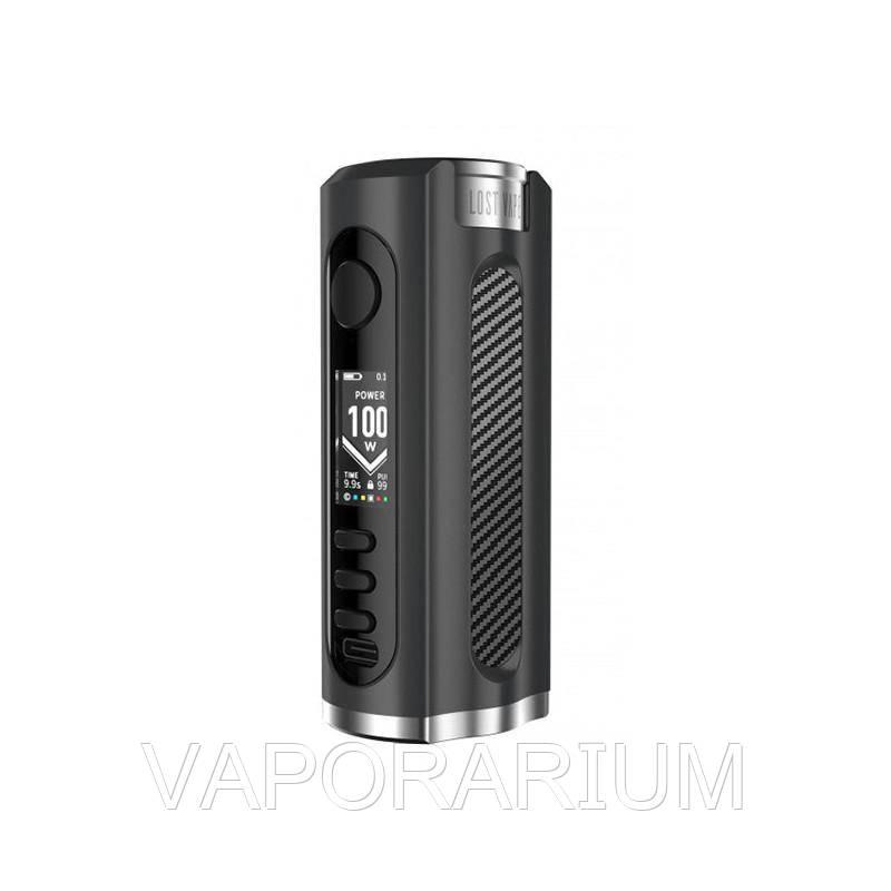 Батарейный мод Lost Vape Grus 100W Black Carbon Fiber