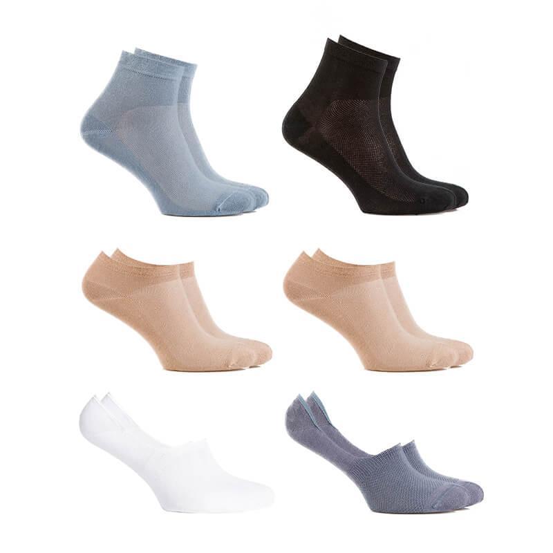 Комплект чоловічих шкарпеток літніх Socks Summer, 6 пар