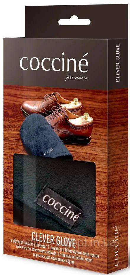 Coccine Варежка-Бархотка для полировки обуви , Флисовая.