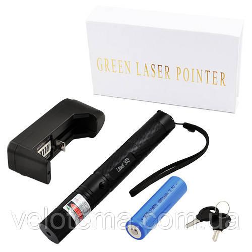 Потужна лазерна указка 303 акумулятор