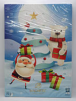 Адвент Календарь шоколадный 75гр
