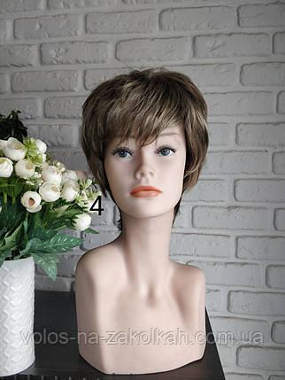 Парик короткая стрижка светлорусый блонд Madren 12H26, фото 2