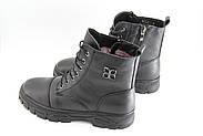 Зимние кожаные ботинки MeegoComfort S19050-3-black, фото 2