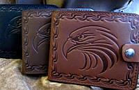 Оригинальное мужское портмоне № 2 Орёл, фото 1