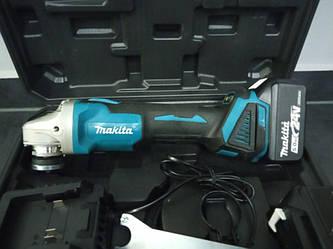 Аккумуляторная болгарка  Makita DGA540 brushless безщеточная !+2аккумулятора