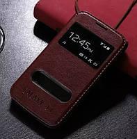 Чехол-книга с окошком для Samsung Galaxy J1 J100