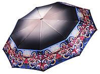 Атласна жіноча парасолька Три Слона 9 СПИЦЬ ( повний автомат )  арт. L3990-5, фото 1