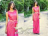 Женское гипюровое платье в пол, фото 2