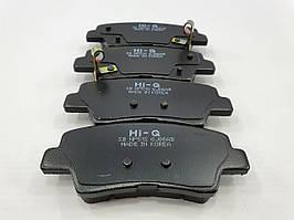 Колодки тормозные дисковые задние Hyundai Accent с 2010г., Kia RIO  HI-Q Корея