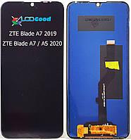 Модуль ( дисплей + сенсор ) ZTE Blade A7 2019 / a5 2020 / a7 2020  Чорний