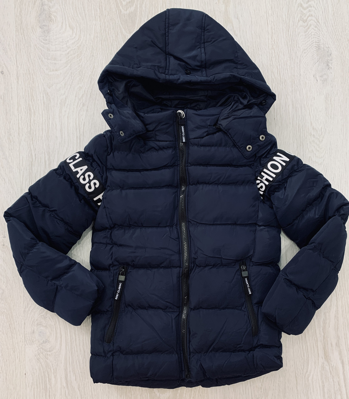 Куртка пуховик зимняя для мальчика, S&D, арт. 0028