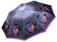 Зонт с цветами Три Слона 9 СПИЦ ( полный автомат ) арт. L3999-4, фото 1