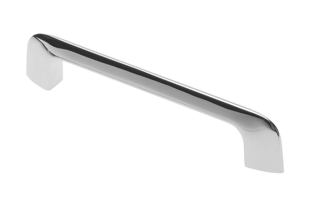 Ручка меблева GTV MILANO Хром 128 мм (UZ-MILAN-128-01)