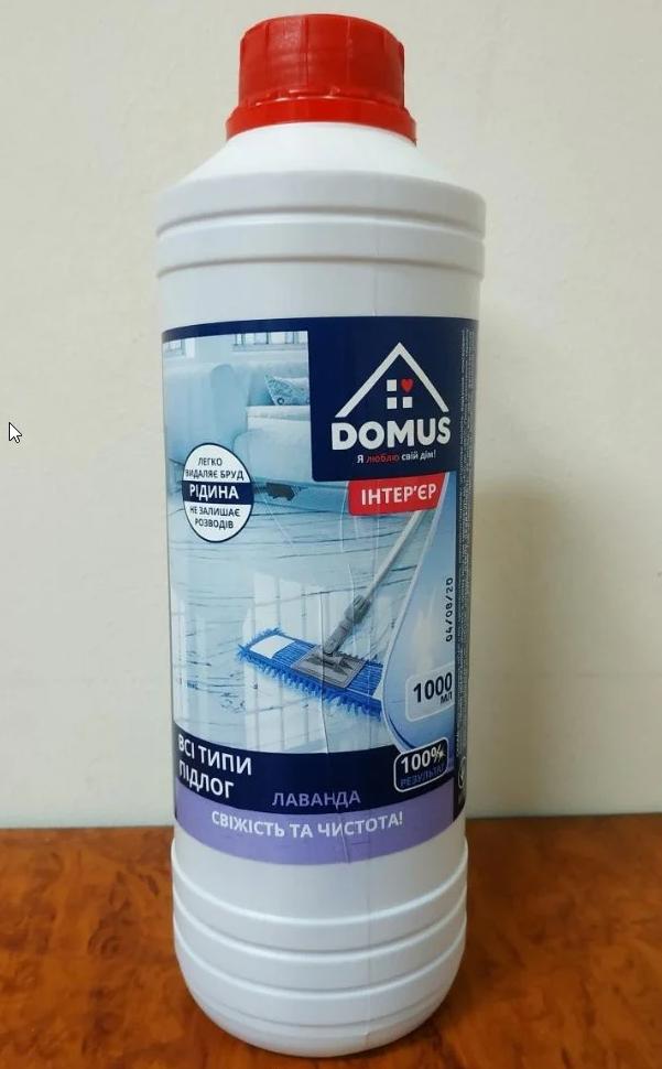 Средство для мытья пола Domus 1 л, Эленси Домус Лаванда