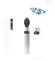 Офтальмоскоп прямой с аккумуляторной рукояткой KaWe  Eurolight  Е 15