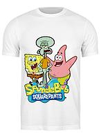 Футболка GeekLand Губка Боб Квадратные Штаны SpongeBob SquarePants РС.01.01