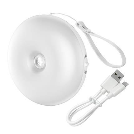 Ночник индукционный BASEUS Light garden Series Intelligent Induction Nightlight аккумулятор 1000mAh, фото 2